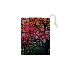 Circle Abstract Drawstring Pouches (xs)