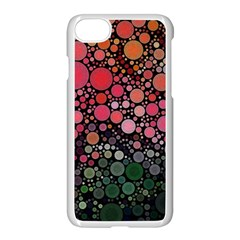 Circle Abstract Apple Iphone 7 Seamless Case (white)