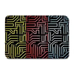 Circuit Board Seamless Patterns Set Plate Mats