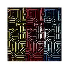 Circuit Board Seamless Patterns Set Acrylic Tangram Puzzle (6  x 6 )