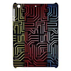 Circuit Board Seamless Patterns Set Apple Ipad Mini Hardshell Case