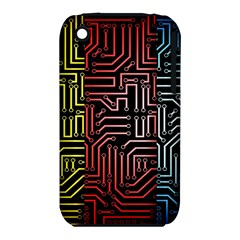 Circuit Board Seamless Patterns Set Iphone 3s/3gs