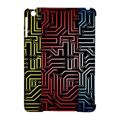 Circuit Board Seamless Patterns Set Apple Ipad Mini Hardshell Case (compatible With Smart Cover)