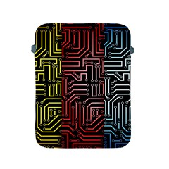Circuit Board Seamless Patterns Set Apple Ipad 2/3/4 Protective Soft Cases