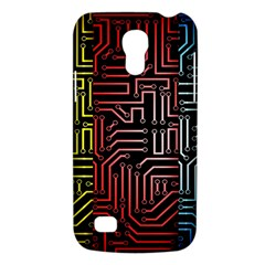 Circuit Board Seamless Patterns Set Galaxy S4 Mini