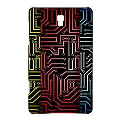 Circuit Board Seamless Patterns Set Samsung Galaxy Tab S (8 4 ) Hardshell Case