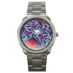 Creative Abstract Sport Metal Watch