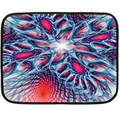 Creative Abstract Double Sided Fleece Blanket (mini)
