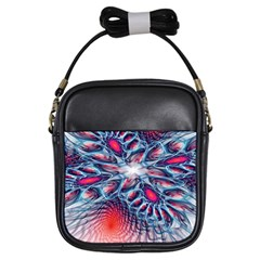 Creative Abstract Girls Sling Bags