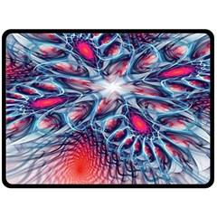 Creative Abstract Fleece Blanket (large)