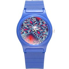 Creative Abstract Round Plastic Sport Watch (s)