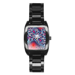 Creative Abstract Stainless Steel Barrel Watch