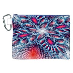 Creative Abstract Canvas Cosmetic Bag (xxl)