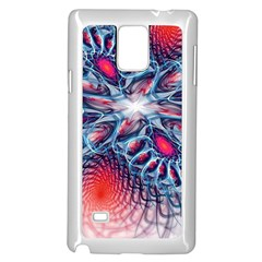 Creative Abstract Samsung Galaxy Note 4 Case (white)