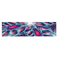 Creative Abstract Satin Scarf (oblong)