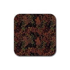 Digital Camouflage Rubber Square Coaster (4 Pack)