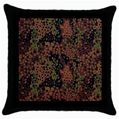 Digital Camouflage Throw Pillow Case (black)