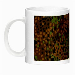 Digital Camouflage Night Luminous Mugs