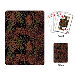 Digital Camouflage Playing Card