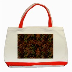 Digital Camouflage Classic Tote Bag (Red)