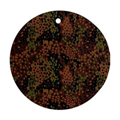 Digital Camouflage Round Ornament (Two Sides)