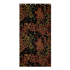 Digital Camouflage Shower Curtain 36  X 72  (stall)