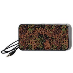 Digital Camouflage Portable Speaker (black)