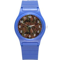 Digital Camouflage Round Plastic Sport Watch (s)
