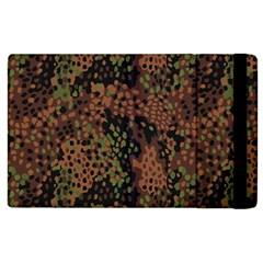 Digital Camouflage Apple Ipad 2 Flip Case