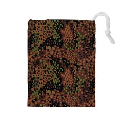 Digital Camouflage Drawstring Pouches (Large)