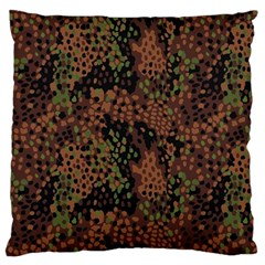 Digital Camouflage Standard Flano Cushion Case (two Sides)