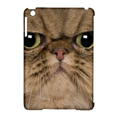 Cute Persian Cat Face In Closeup Apple Ipad Mini Hardshell Case (compatible With Smart Cover)