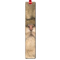 Cute Persian Cat Face In Closeup Large Book Marks