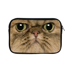 Cute Persian Cat Face In Closeup Apple Ipad Mini Zipper Cases