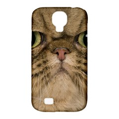 Cute Persian Cat face In Closeup Samsung Galaxy S4 Classic Hardshell Case (PC+Silicone)