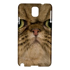 Cute Persian Cat Face In Closeup Samsung Galaxy Note 3 N9005 Hardshell Case