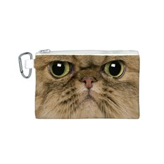 Cute Persian Cat Face In Closeup Canvas Cosmetic Bag (s)