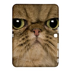 Cute Persian Cat Face In Closeup Samsung Galaxy Tab 4 (10 1 ) Hardshell Case