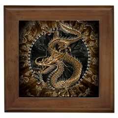 Dragon Pentagram Framed Tiles