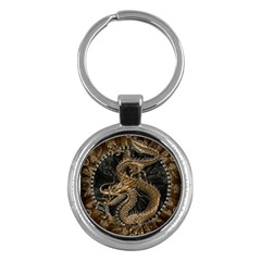 Dragon Pentagram Key Chains (round)