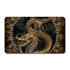 Dragon Pentagram Magnet (rectangular)