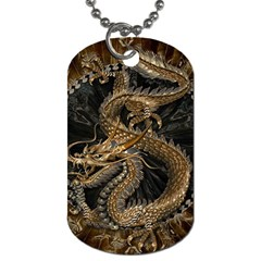 Dragon Pentagram Dog Tag (two Sides)