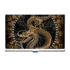Dragon Pentagram Business Card Holders