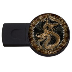 Dragon Pentagram Usb Flash Drive Round (2 Gb)