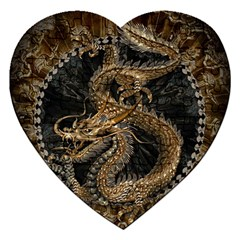 Dragon Pentagram Jigsaw Puzzle (heart)