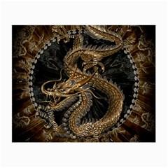 Dragon Pentagram Small Glasses Cloth