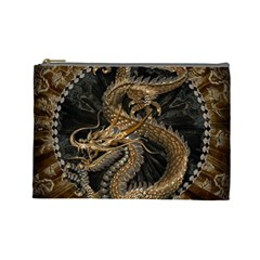 Dragon Pentagram Cosmetic Bag (large)