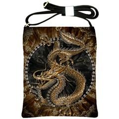 Dragon Pentagram Shoulder Sling Bags