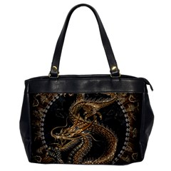 Dragon Pentagram Office Handbags