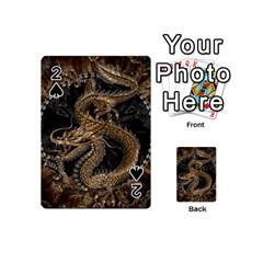 Dragon Pentagram Playing Cards 54 (mini)